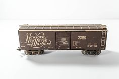 A personal favorite from my Etsy shop https://www.etsy.com/listing/253292327/vintage-1940s-marx-marline-tin-train-new
