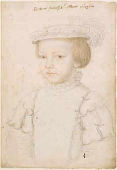 Francis II, King of France (1544-1560). c. 1548. Jean Clouet.