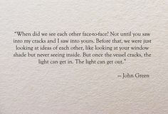 "John Green in ""Paper Towns"""