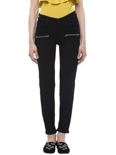Beads Ripped Skinny-Fit Jeans Best Jeans, Skinny Fit Jeans, Ankle Length, Your Style, Fashion Beauty, Black Jeans, Zipper, Pockets, Beads
