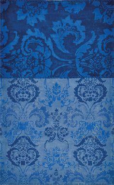 Teppich Designers Guild Kashgar Indigo