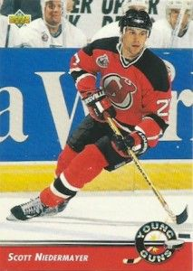 1992-93 Upper Deck Young Guns Scott Niedermayer