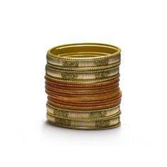 Liquidationprice.com  Bangle Bracelet Sets of 24. Confetti Rectangle Gold At $3.00
