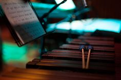 Opera North Orchestra - beautiful mood lighting