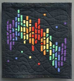 This year was the 20th anniversary of the Carrefour. All the artists who had ever exhibited at St-Marie were asked to present an old quilt ...