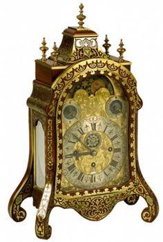 Antique Joseph Graff pendulum clock ~ Germany ~1750 ~