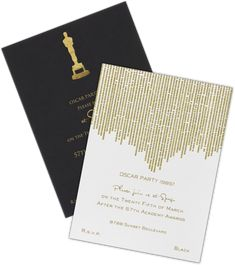 15 Cool Oscar Party Invitations 2