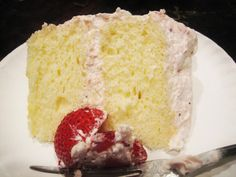 Chinese Bakery Cake   Nancy Baked; 5 eggs, separated at room temperature 1 1/2 c. cake flour (if making chocolate cake, use 1 c. cake flour and 1/2 c. cocoa powder) 1/2 tsp. baking powder 1/2 tsp. cream of tartar 1 c. sugar, separated into 1/3 and 2/3 cup 1/3 c. water 1/3 c. vegetable or canola oil 1 tsp. vanilla extract