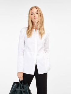 Women's shirts & tops for AW 2016 at Massimo Dutti. Tunics, silk or smart blouses and tailored or poplin shirts. Must-haves to complete your wardrobe! Shirt Blouses, Women's Shirts, Elegant Woman, I Love Fashion, Poplin, Printed Shirts, Blouses For Women, Street Style, Jackets