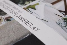 ©Philipp Vavra - Papeterie - dieHochzeitsplanerei Place Cards, Place Card Holders, Paper Mill