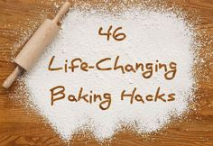 46 Life-Changing Baking Hacks Everyone Needs To Know – Amazing World Food and Recipes Baking Secrets, Baking Tips, Baking Hacks, Food Hacks, Bread Baking, Vegan Baking, Cooking For A Group, Fun Cooking, Cooking Recipes