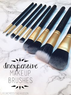 Amazing Affordable Makeup Brushes | Inexpensive Makeup Brushes | High Quality Makeup Brushes | Be You, Beautifully | via LifeAcrossTheHudson.com