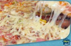 Πίτσα ολικής αλέσεως , ψημένη εξ ολοκλήρου στο τηγάνι !!! Συνταγές για διαβητικούς