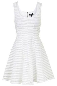 Airtex Skater Dress