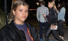 Sofia Richie proves flashes lacy bra in sheer top at Kanye West gig