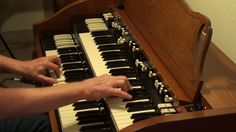 A whiter shade of pale - video of the Hammond organ track as I learned b...