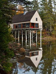 Maine summer cottage
