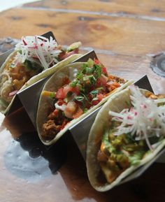 We think that tacos are a dish best served fun, with a side of liquor. Welcome to The Mule, where tacos, tequila and bourbon come to party. Mexican Food Recipes, Ethnic Recipes, Food Truck, Farmers Market, Tequila, Bourbon, Hamilton, Tacos, Brunch