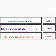 Complete Collection of Eleven Analogies Sets