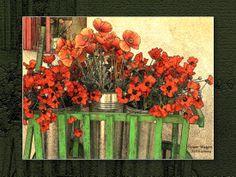 Flower Wagon