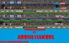 PES 2017 CL, EL and SC TV Logo Scoreboard by abdul11akbel