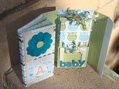 Premade 2 in 1 Mini Album New Baby by alishastratton on Etsy, $35.00