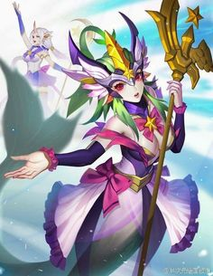 Nami and Soraka, the new Star Guardians in the club xD ..... I think?