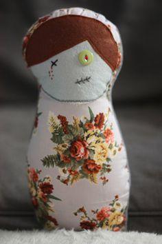 zombie cuddle doll