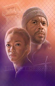 Sasha & Tyreese The Art of GARD