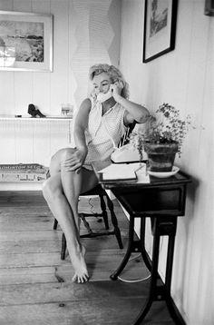 Des clichés inédits de Marilyn Monroe exposés à la Galerie de l'Instant | Vogue