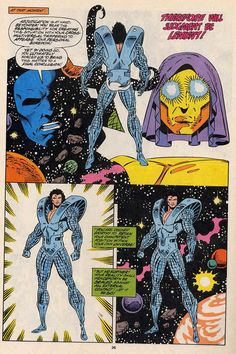 The Beyonder is judged by Eternity and the Living Tribunal