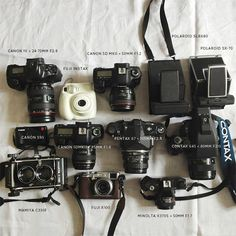 what a dreamy assortment of gear. Alice Gao on the Mocking Bird blog.