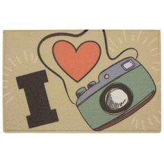 Capacho I Love Photo - 60 x 40 :: Hmmm