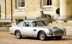 Aston Martin famous for its role in several James Bond films. Aston Martin Db5, Martin Car, Tgif, My Dream Car, Dream Cars, James Bond Cars, The Perfect Getaway, Car In The World, Car Rental