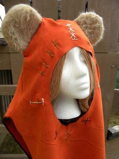 An Ewok Hood. Too cute!