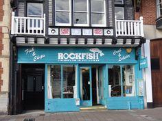 RockFish Fish & Chip restaurant, award winning brilliant fish & chips
