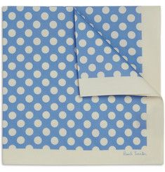 Polka-Dot Cotton Handkerchief