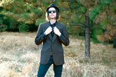 Vintage Mens Suit Jacket// Pinstripe Jacket// Slim Fit// by AstralBoutique, $38.00