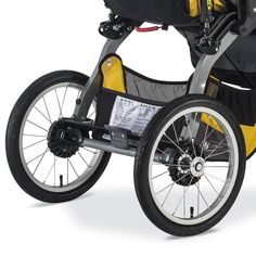 Amazon.com : BOB 2016 Ironman Duallie Jogging Stroller, Yellow : Baby Baby Doll Strollers, Best Baby Strollers, Double Strollers, Jogging Stroller, Pram Stroller, Twin Babies, Twins, Twin Pram, Best Prams