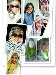 Hijab style by sandywest. Instagram sandywestshawl