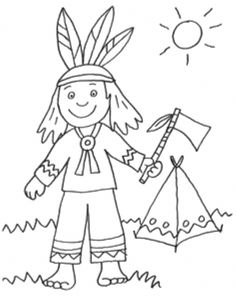 Cowboys & Indians: Free coloring page: Indians and his tent for coloring Free Kids Coloring Pages, Animal Coloring Pages, Coloring Pages For Kids, Free Coloring, Art Drawings For Kids, Drawing For Kids, Drawing Heart, Wild West Crafts, Indiana