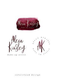 57 new Ideas for makeup artist logo design graphics make up Fashion Design Portfolio, Fashion Logo Design, Watercolor Logo, Watercolor Fashion, Fashion Painting, Artist Branding, Branding Design, Branding Kit, Logan