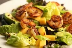 shrimp-mango-avocado-salad-hcg-diet-recipe