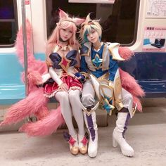 Excellent Photos league of legends star guardian Suggestions Video Game Cosplay, Cosplay Diy, Cute Cosplay, Cosplay Outfits, Best Cosplay, Cosplay Girls, League Of Legends, Ahri Star Guardian, Cosplay Mignon