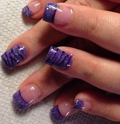 Acrylic nails by Angela