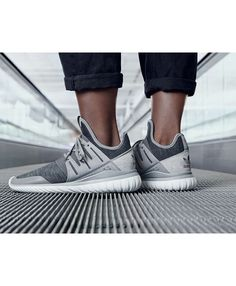 uk availability 32786 5e6d9 Adidas Tubular Radial Trainers In Solid Grey Wolf Grey Adidas Tubular Mens, Adidas  Tubular Shadow