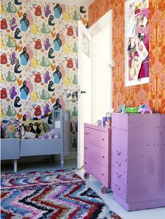 midwestmaude: Inspiration for the kids rooms