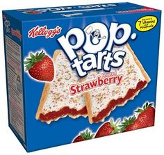 Kellogg's Pop-Tarts Frosted Strawberry, 12 ct, 22 oz - from shelf to Pinterest with LoveListApp.com