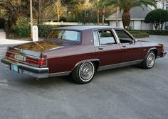 1983 Buick Electra Limited Four Door Sedan