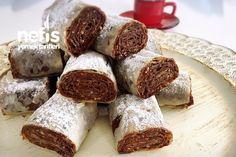 Çikolatalı Çıtır Rulolar (10 dk Da)
